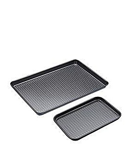 MasterClass Non Stick Twin Baking Tray Set