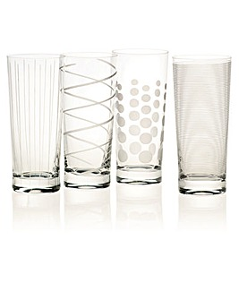 Mikasa Cheers High Ball Glasses