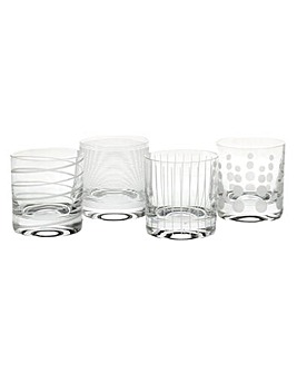 Mikasa Cheers Set of 4 Tumblers