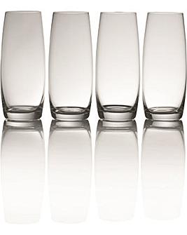 Mikasa Julie Stemless Flute Glasses