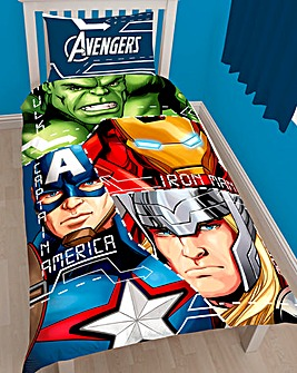 Marvel Avengers Tech Panel Duvet