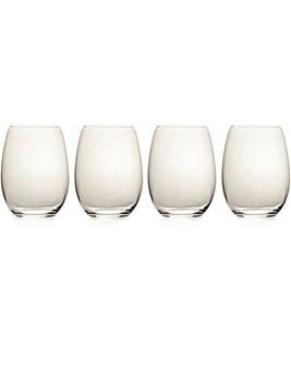 Mikasa Julie Stemless Wine Glasses
