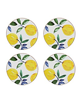Creative Tops Lemons 4 Round Coasters