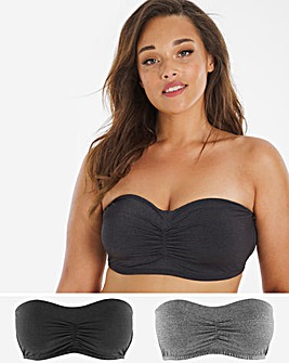 Magisculpt 2 Pack Smoothing Padded Bandeau