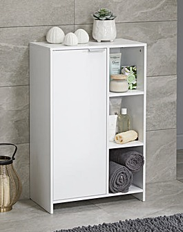Mila Floor Cabinet with Shelves