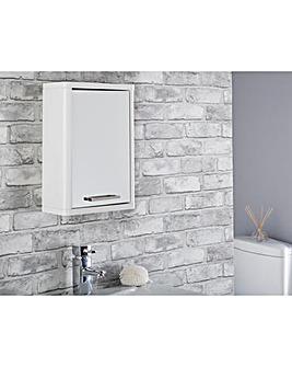 Nova Gloss Single Mirrored Cabinet