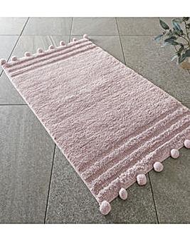 Pom Pom Blush Bathmat