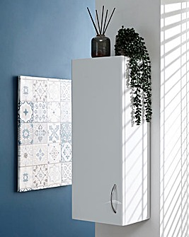 Luna Gloss One Door Cabinet