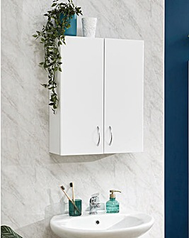 Luna Gloss Two Door Cabinet