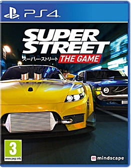 Super Street Racer The Game PS4