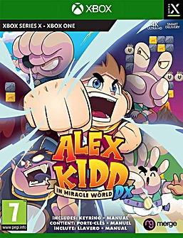 Alex Kidd in Miracle World DX Series X