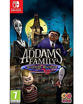 The Addams Family Mansion Mayhem Switch
