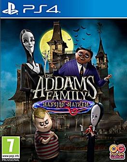 The Addams Family Mansion Mayhem PS4