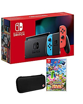 Switch Neon and New Pokemon Snap