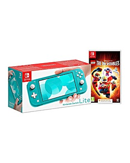 Switch Lite Turquoise  LEGO Incredibles