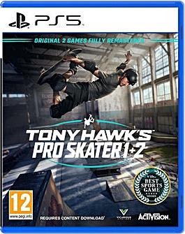 Tony Hawk Pro Skater 1 and 2 PS5