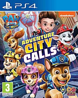 Paw Patrol Adventure City Calls PS4