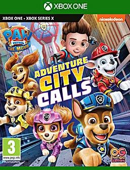 Paw Patrol Adventure City Calls Xbox