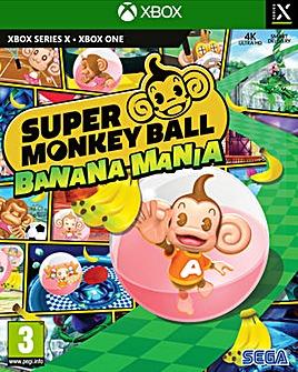 Super Monkey Ball Banana Mania Series X