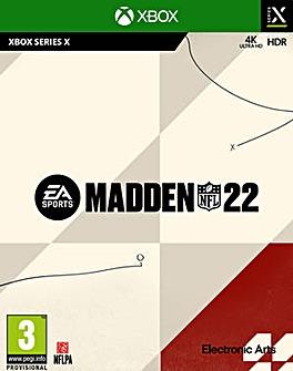 Madden 22 Xbox Series X