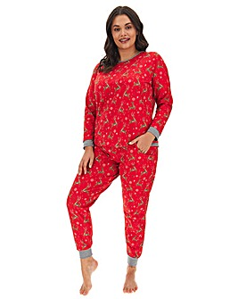 Joe Browns Christmas Reindeer PJ Set