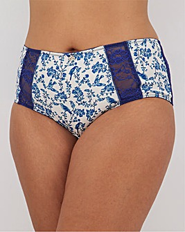 Joe Browns Full Fit Blue Floral Brief