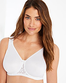 Miss Mary Smooth Lacy Wired T Shirt Bra