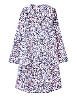 Joules Verity Leopard Nightshirt