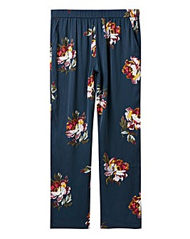 Joules Rose Satin pyjama Bottoms