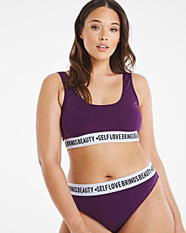Felicity Hayway Playful Promises Self Love Crop Top