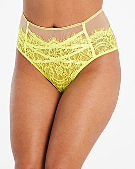 Gabi Fresh Playful Promises Lace Hi Waist Brief