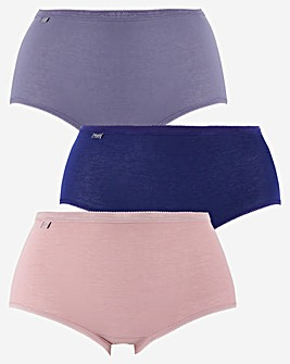 Sloggi 3Pack Basic Maxi Briefs