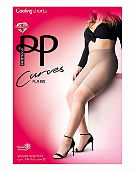 Pretty Polly Curves Sheer Cooling Shorts