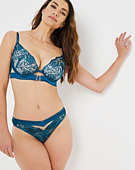 Ann Summers Shadow Lace Plunge Bra