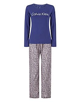 Calvin Klein Logo PJ Set