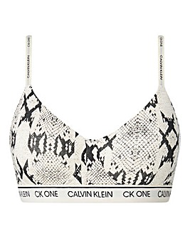 Calvin Klein Cotton Lined Bralette