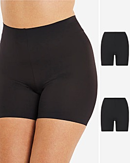 Maidenform 2Pack Girl Shorts