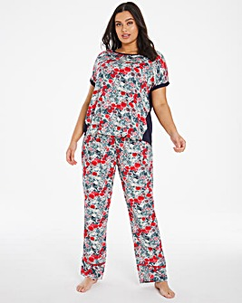 Joe Browns Romantic Floral PJ set