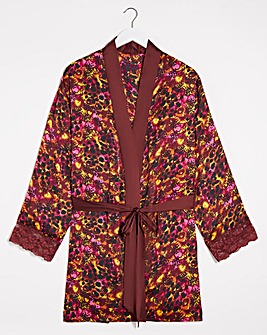 Joe Browns Animal Print Kimono Wrap