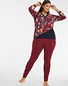 Joe Browns Plum Floral Legging