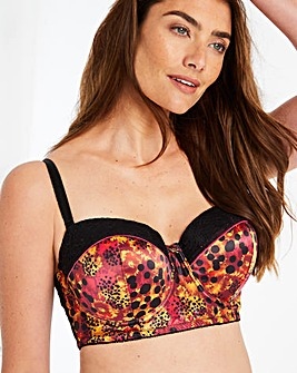 Joe Browns Animal and Lace Multiway Bra