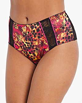 Joe Browns Animal and Lace Brief