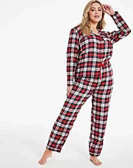 Boux Avenue Red Check PJ In A Bag