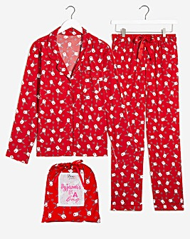 Boux Avenue Reindeer PJ In A Bag