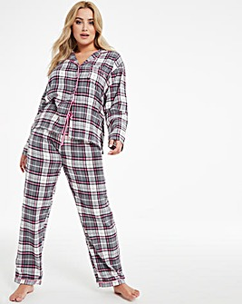 Boux Avenue Charcoal PJ In A Bag