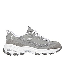 Skechers D'Lites Me Time Wide Fit Trainers