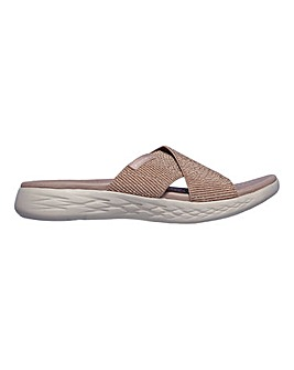 Skechers On-The-Go 600 Glistening Sandals