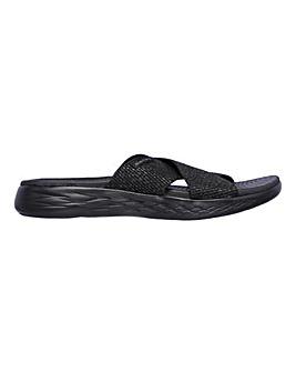 Skechers On-The-Go 600 Glistening Sandals