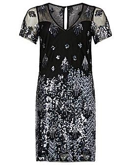 Monsoon Beatrix Embellished Tunic Dress
