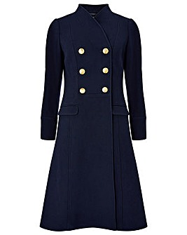 Monsoon Rosaline Military Long Coat
